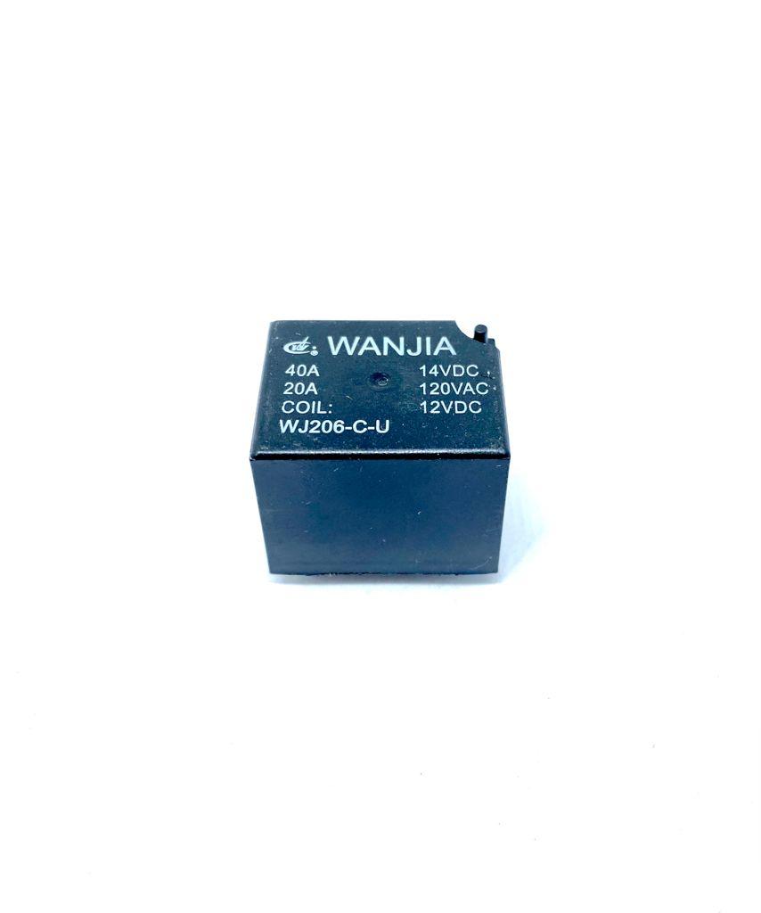 RELE 12VDC WJ206-C-U-12VDC WANJIA (WJ206CU12VDC)