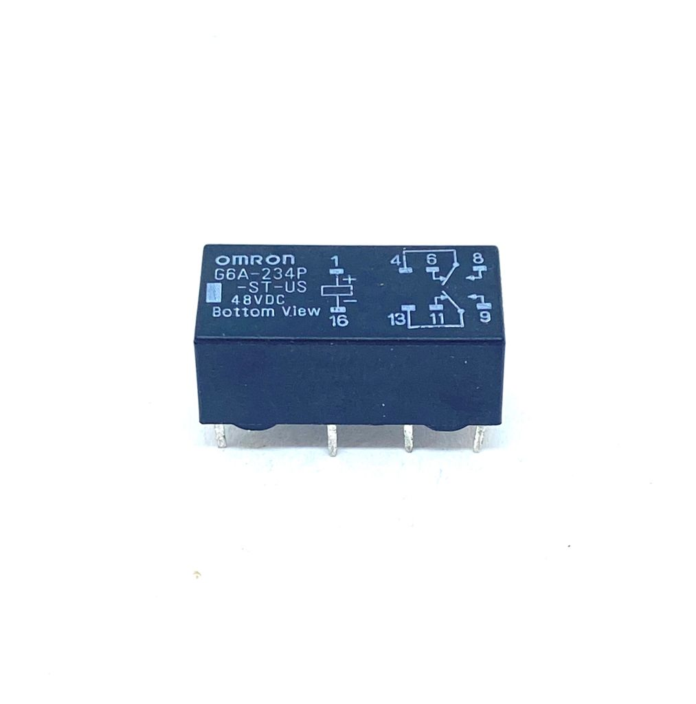 RELE 48VDC G6A-234P-ST-US-DC48 OMRON (G6A234PSTUSDC48)