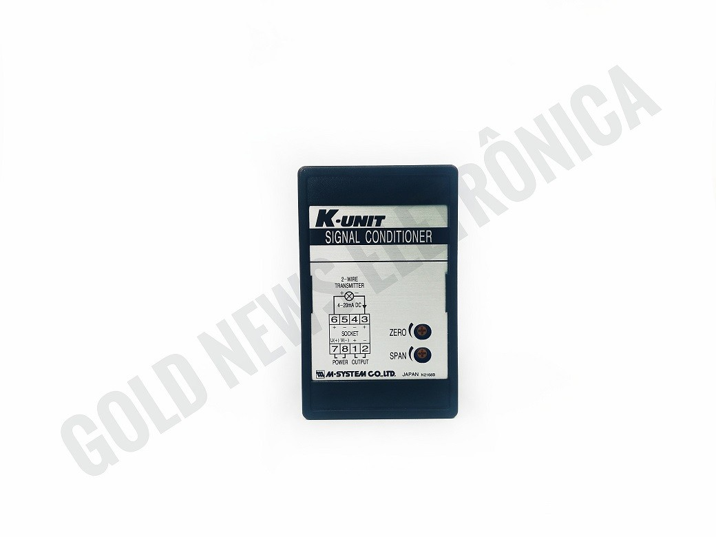Rele com base KDY-6-C 1-5DC 4-20mA DC