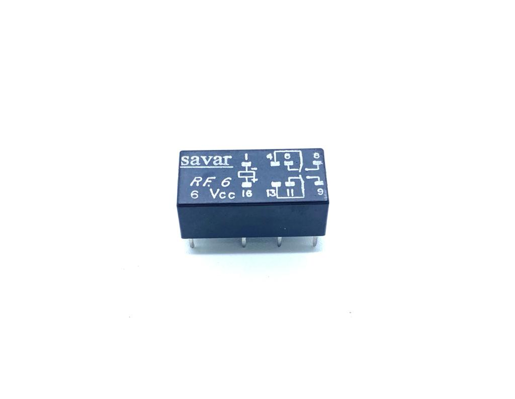 RELE RF6 6VCC SAVAR