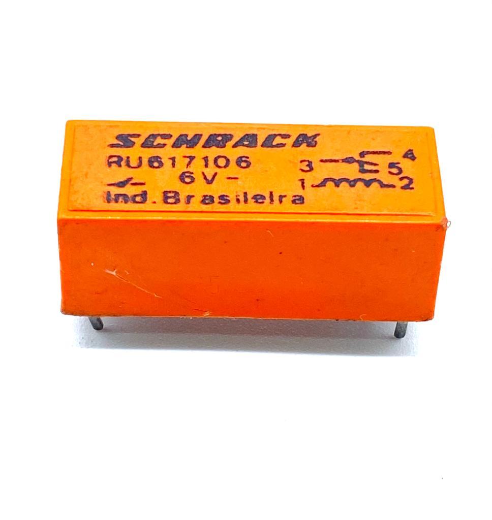 RELE RU617106 6VDC SCHRACK (REFURBISHED)