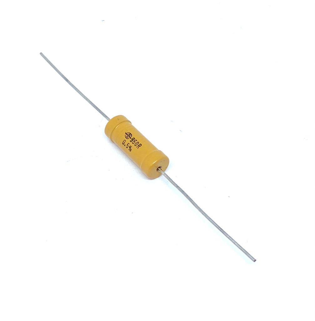 RESISTOR 960R 5W 0,5% AXIAL 8X21MM