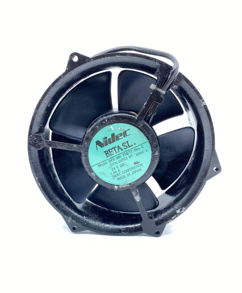 VENTILADOR 172X51MM 24VDC 1,40A 04FIOS BKV301216/77 D17L-24PS3 01 NIDEC (USADO)
