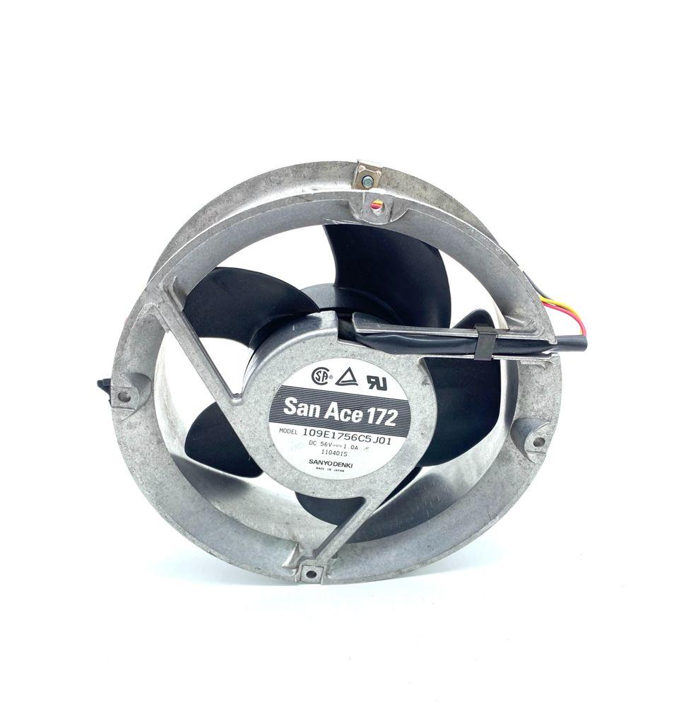 VENTILADOR 172X51MM 56VDC 1A 03FIOS SAN ACE172 109E1756C5J01 (USADO)