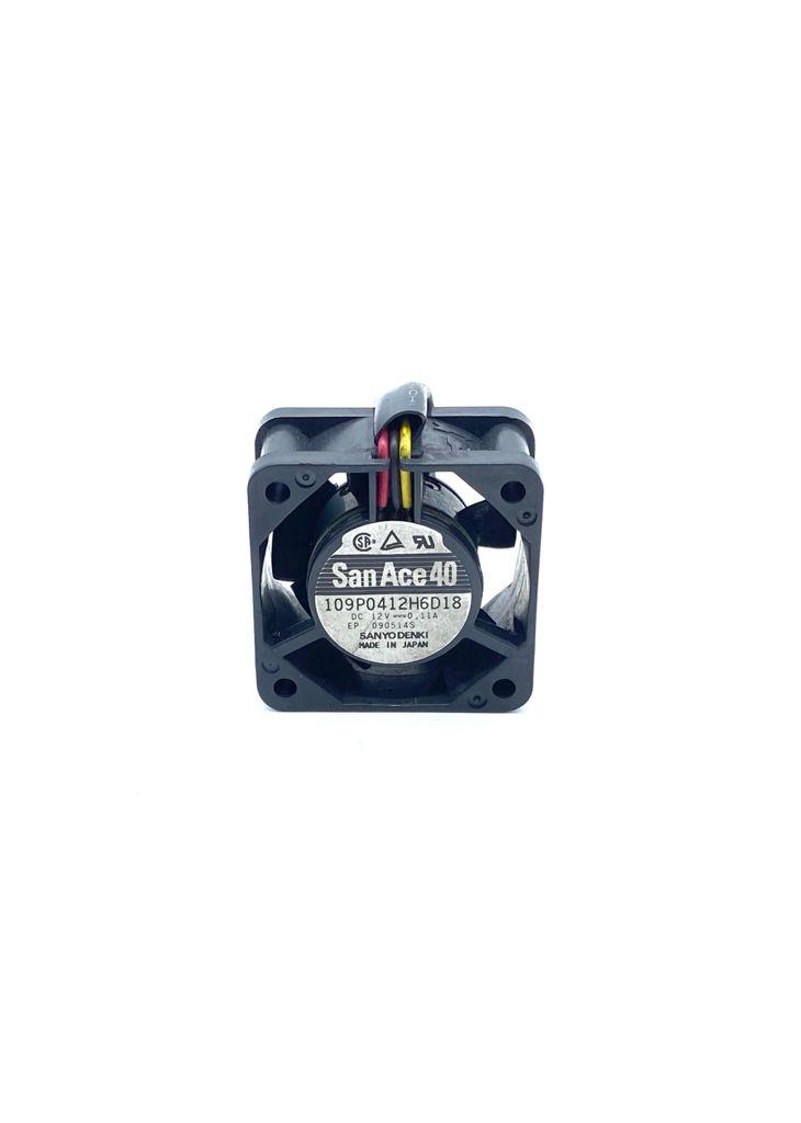 VENTILADOR 40X40X20MM 12VDC 0,11A 03FIOS 109P0412H6D18 SANACE40 SANYO DENKI (USADO)