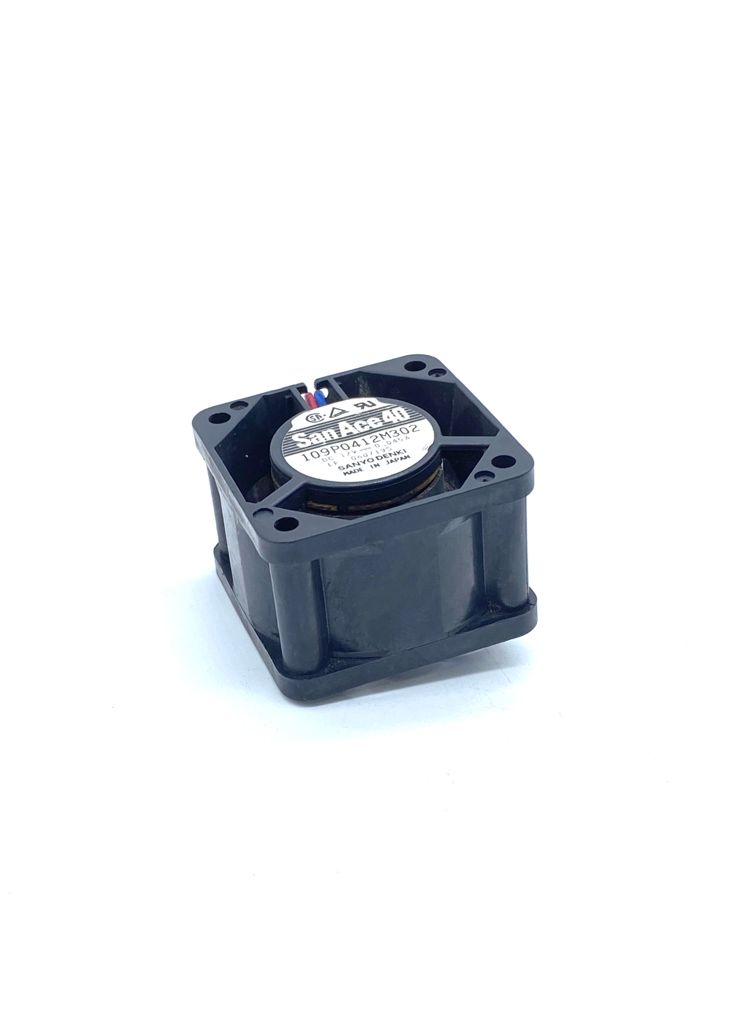 VENTILADOR 40X40X28MM 12VDC 0,045A 02FIOS 109P0412M302 SANACE40 SANYO DENKI (USADO)