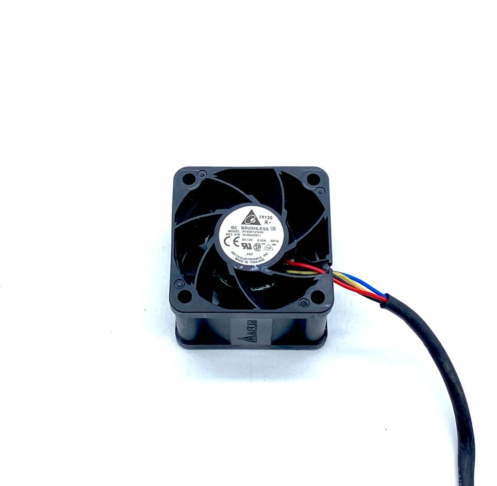 VENTILADOR 40X40X28MM 12VDC 0,60A 03FIOS FFB0412SHN DELTA (USADO)