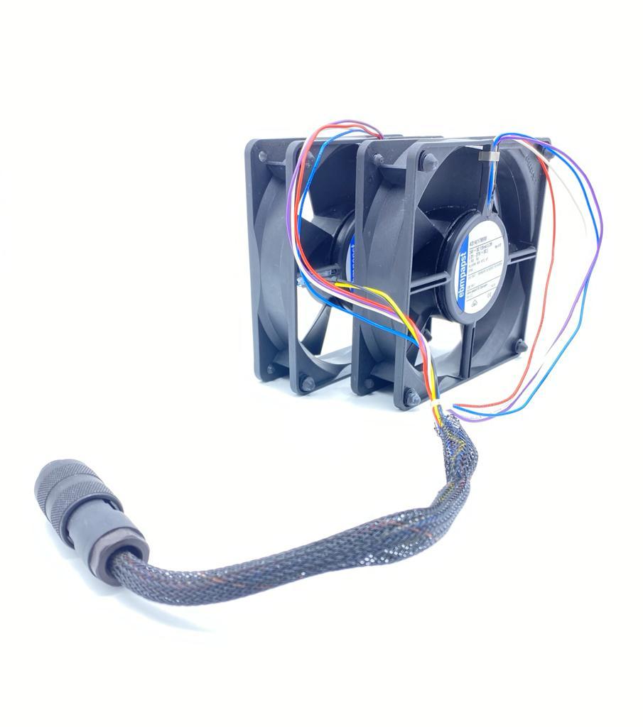 VENTILADOR 119X119X32MM 4314/17MVU 24VDC DUPLO COM CONECTOR EBM PAPST (431417MVU)