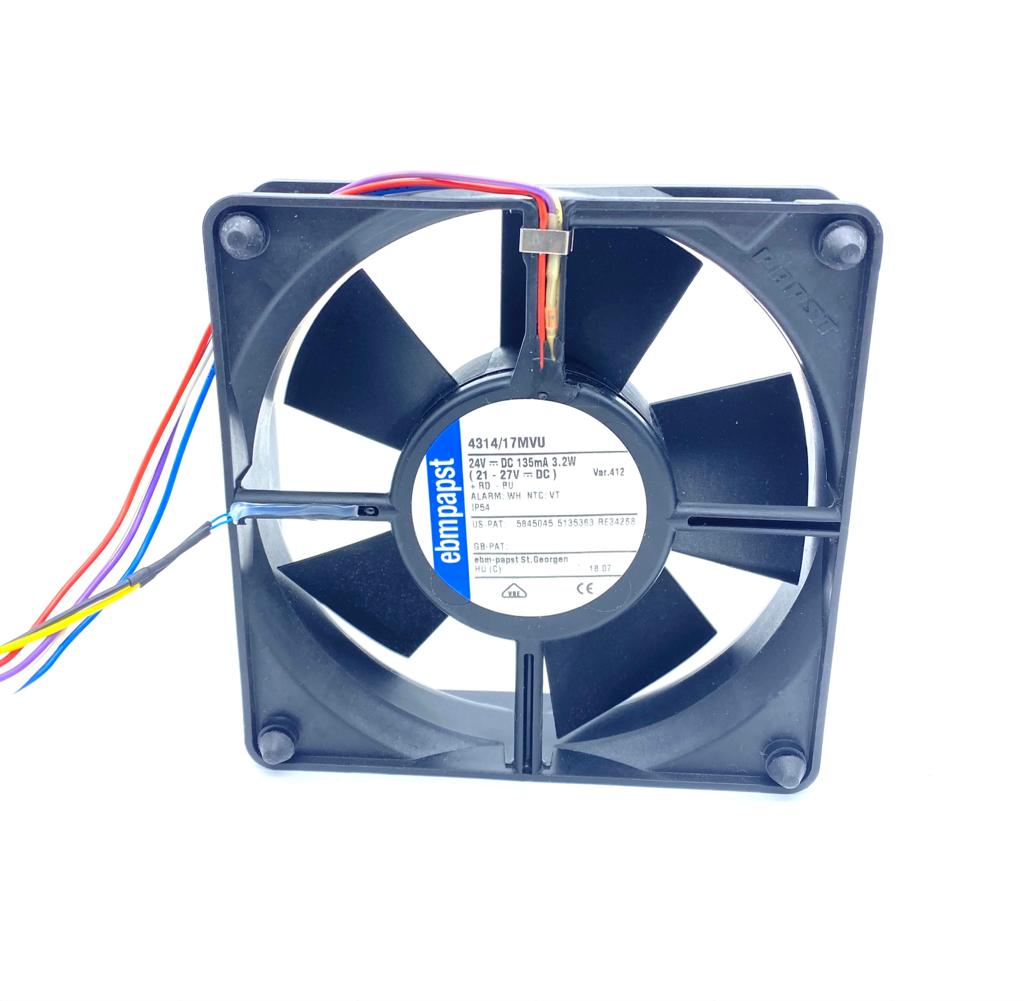 VENTILADOR 119X119X32MM 4314/17MVU 24VDC EBM PAPST