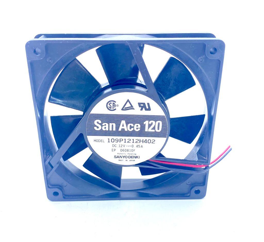 VENTILADOR 119X119X38MM 12VDC 109P1212H402 SAN ACE 120 SANYO DENKI (USADO)