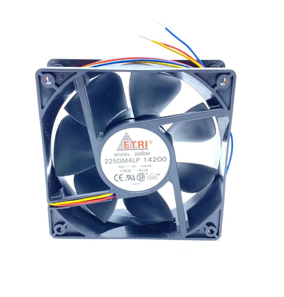 VENTILADOR FAN COOLER 120X120X38MM 48VDC 225DM 225DM4LP 14200 ETRI
