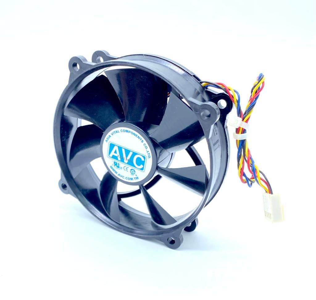 VENTILADOR FAN COOLER 12VDC 0,6A 4FIOS DF0922512SEUN AVC (USADO)