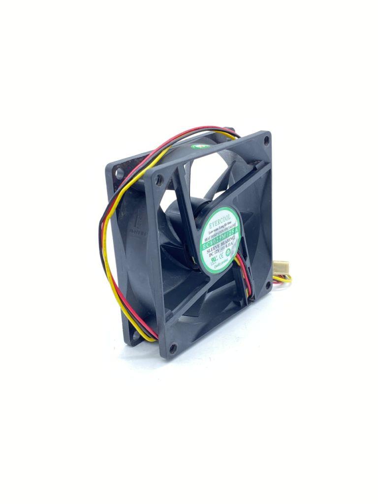 VENTILADOR FAN COOLER 80X80X25MM 12VDC 0,11A 03FIOS EC8025M12SA EVERCOOL (USADO)