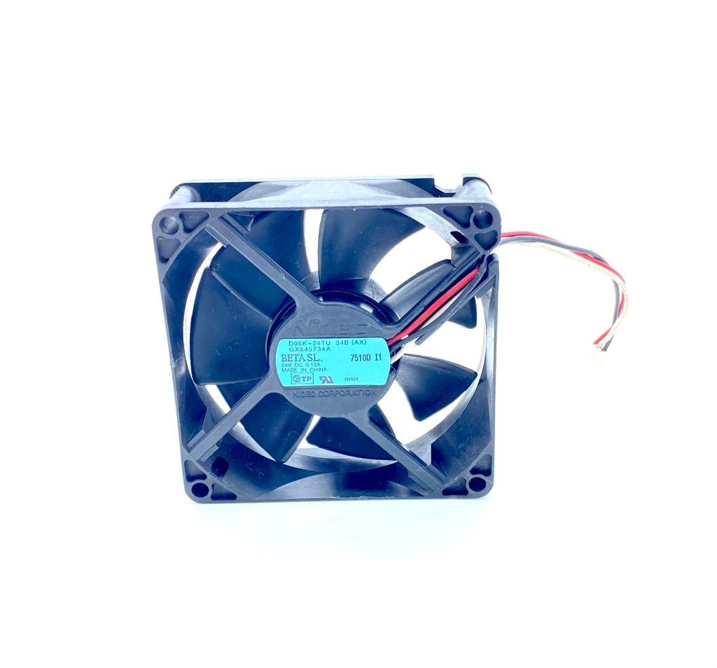 VENTILADOR FAN COOLER 80X80X25MM 24VDC 0,13A 03FIOS DK08K-24TU NIDEC (USADO)