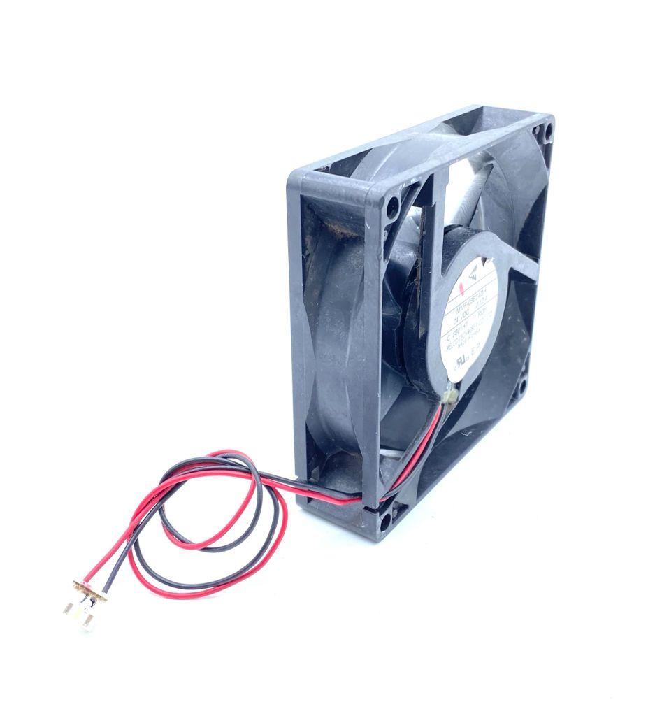 VENTILADOR FAN COOLER 92X92X25MM 24VDC 0,12A 02FIOS MMF-09B24DH MELCO (USADO)