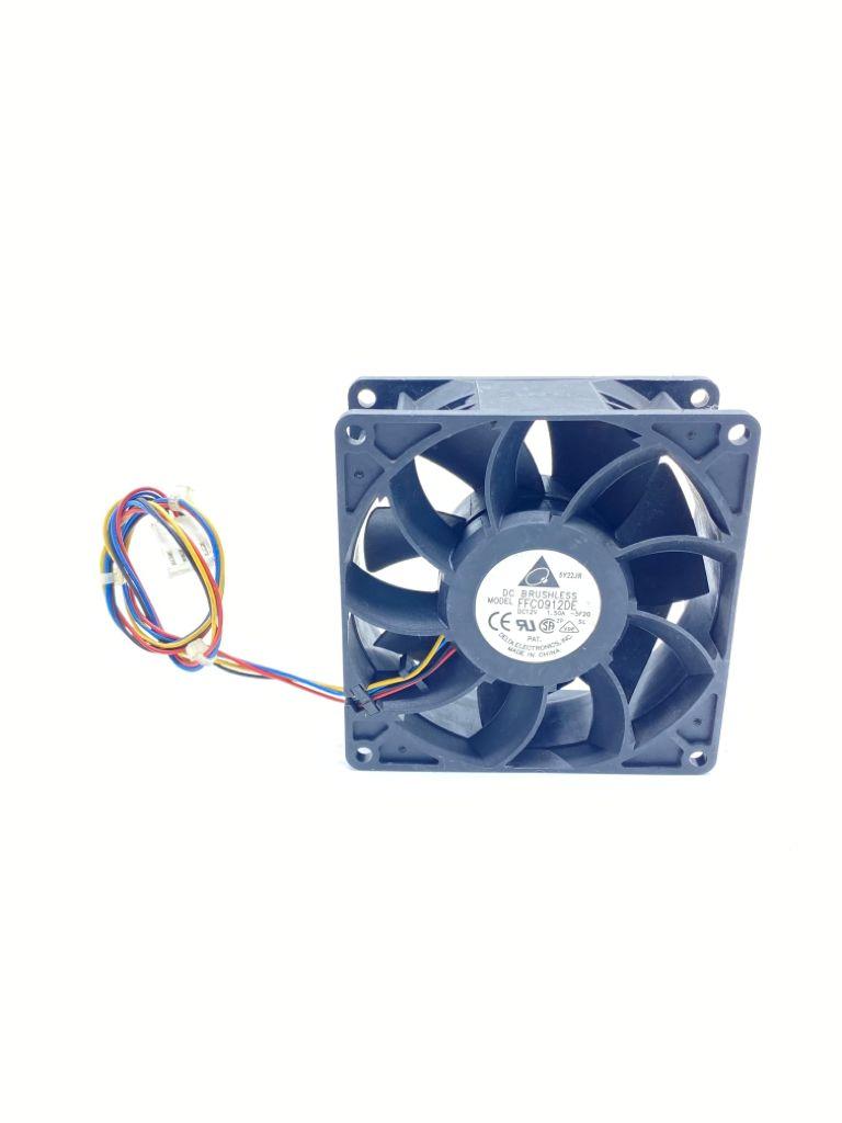 VENTILADOR FAN COOLER 92X92X38MM 12VDC 1,50A 04FIOS FFC0912DE DELTA ELECTRONICS (USADO)