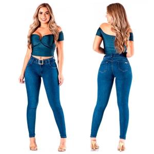 Calça Jeans Cintura Alta Feminina R.I.19 71955