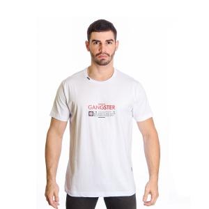 Camiseta Masculina Algodão Gangster Clássica 10.01.9482
