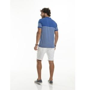 Camiseta Polo Masculina Básica Rovitex 6089865