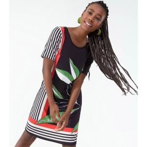 Vestido Feminino Estampado Rovitex 6154965