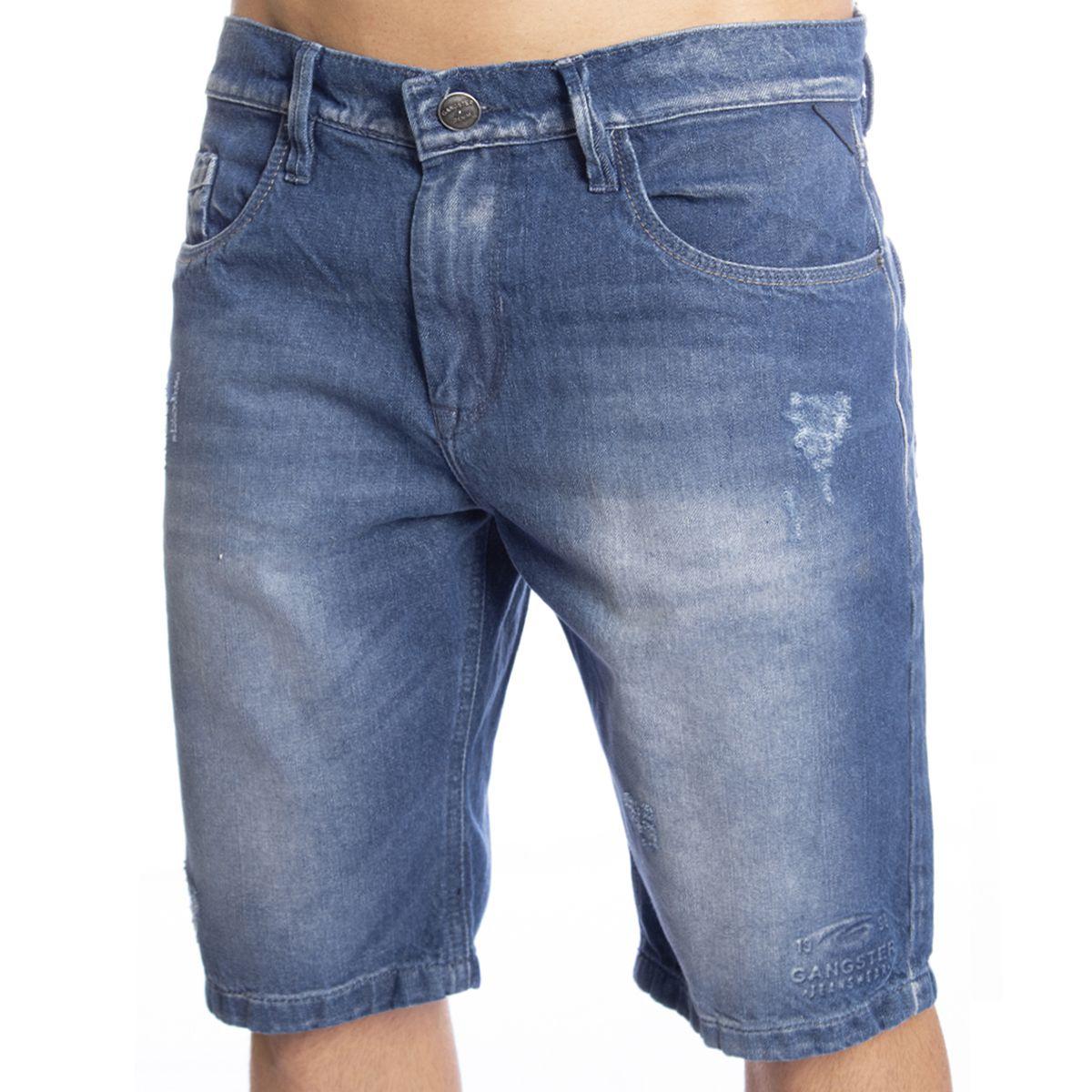 Bermuda Masculina Jeans Gangster 17.24.0111