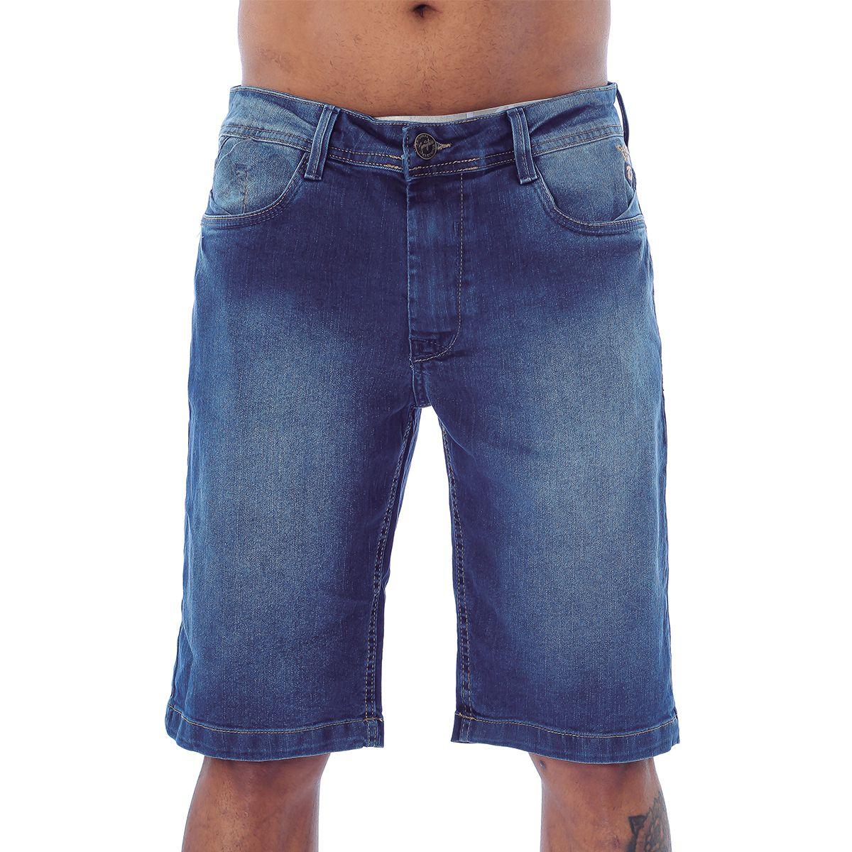 Bermuda Masculina Jeans Gangster 17.31.0327