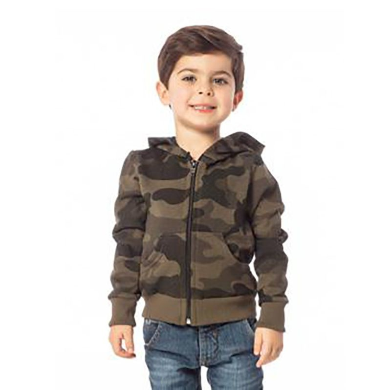 Blusa Infantil Masculina Camuflada SBA 10232