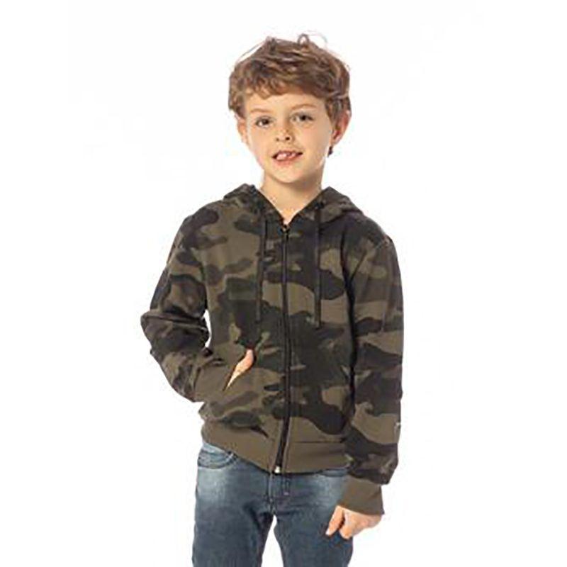Blusa Infantil Masculina Camuflada SBA 10237