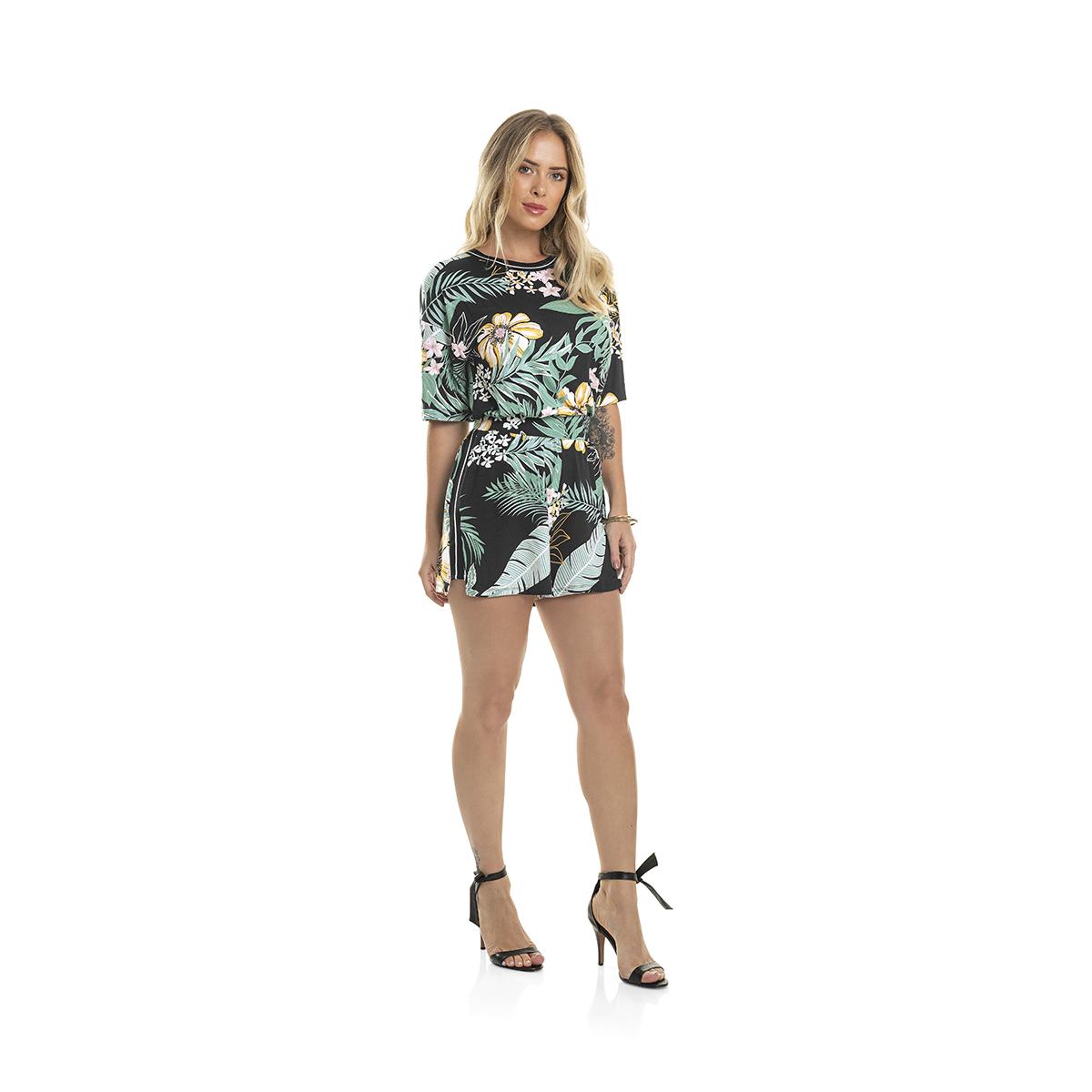 Blusinha Feminina Floral Rovitex 6148205