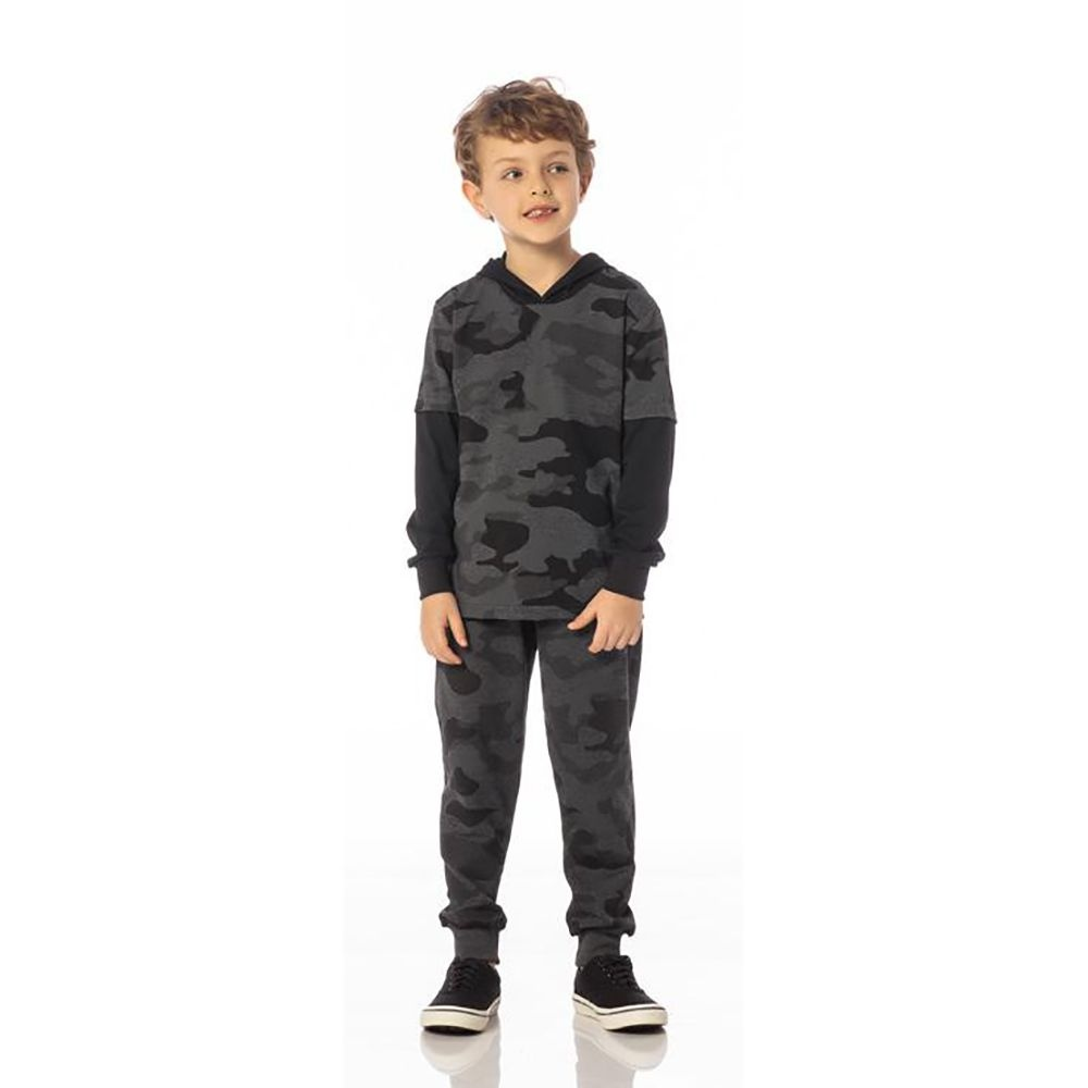 Calça Infantil Masculina Camuflada SBA 10239