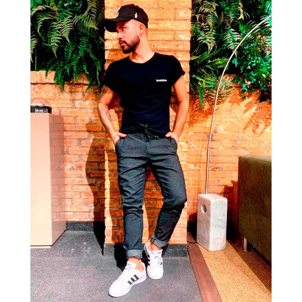 Calça Jeans Jogger Masculina Zune 31173