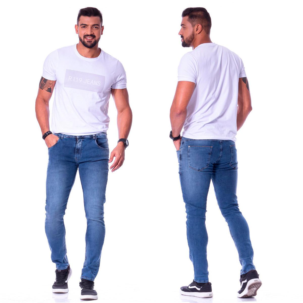 Calça Jeans Slim Masculina R.I.19  91472