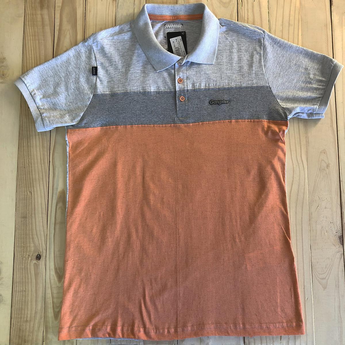 Camisa Polo Masculina Algodão Gangster Clássica 29.07.0515