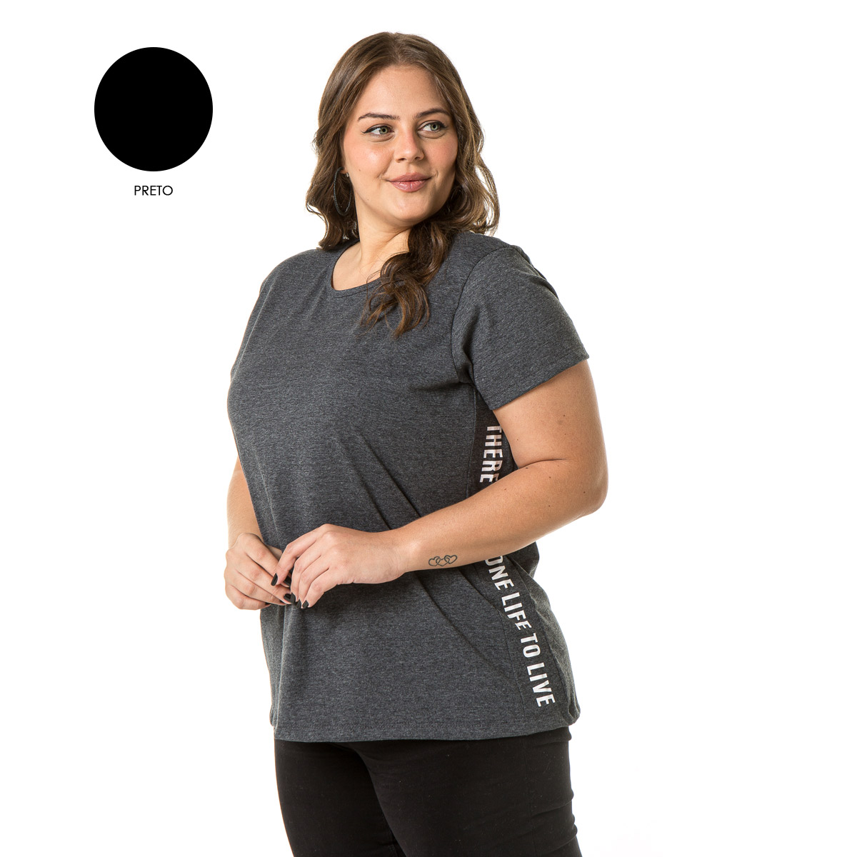 Camiseta Feminina Sba 70015
