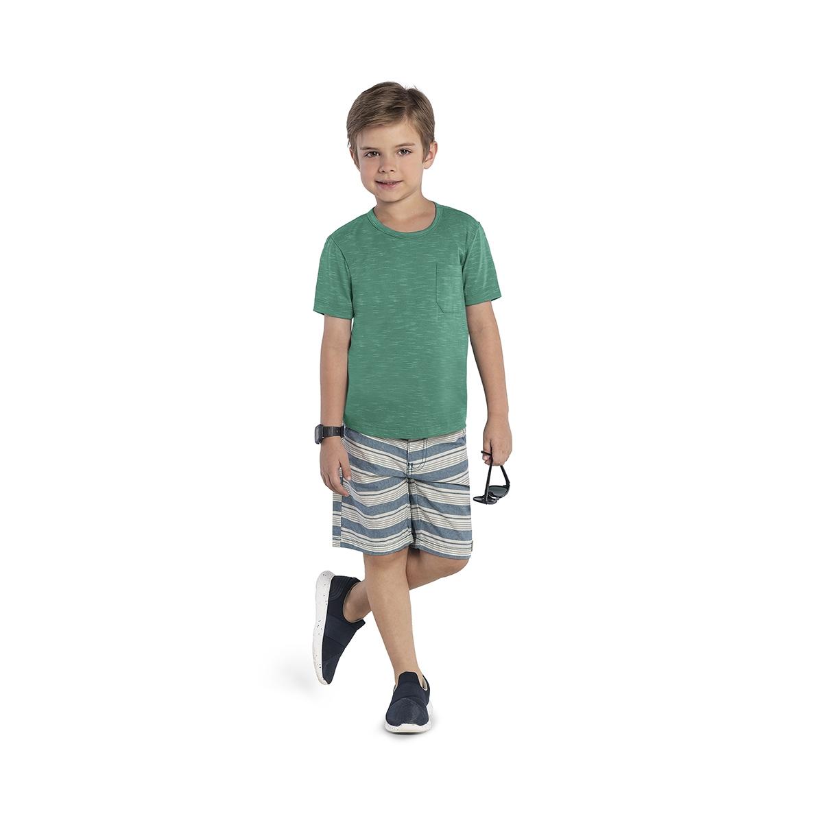 Camiseta Infantil Masculina Rovitex 90403