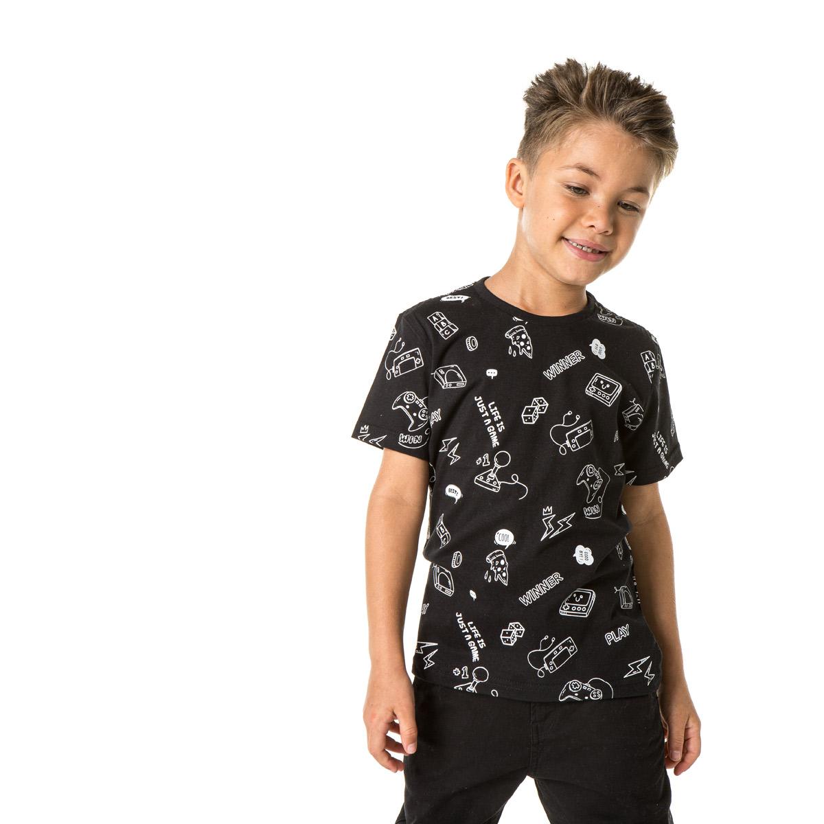 Camiseta Infantil Masculina Sba 10312