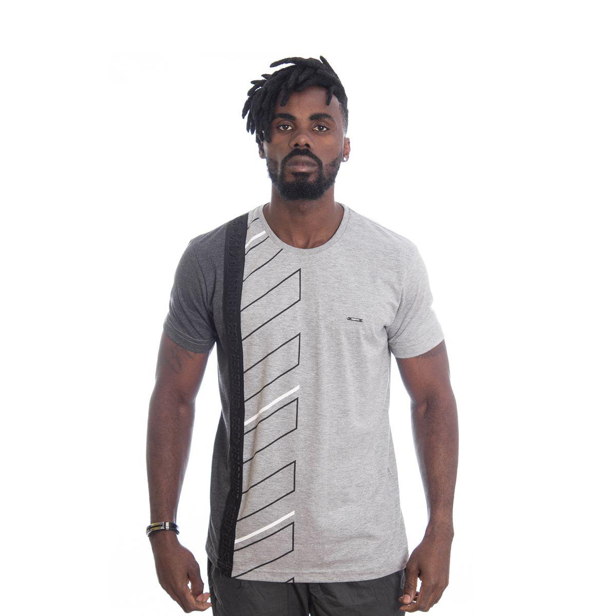 Camiseta Masculina Algodão Gangster Clássica 11.19.2496