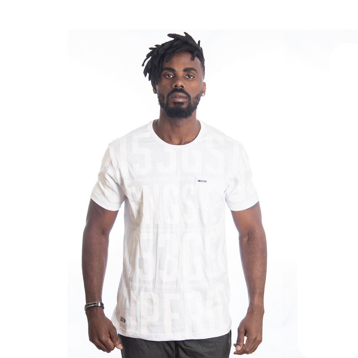 Camiseta Masculina Algodão Gangster Clássica 11.19.2508