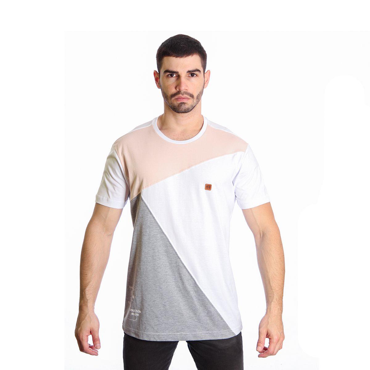Camiseta Masculina Básica Estampada Gangster 11.19.2467