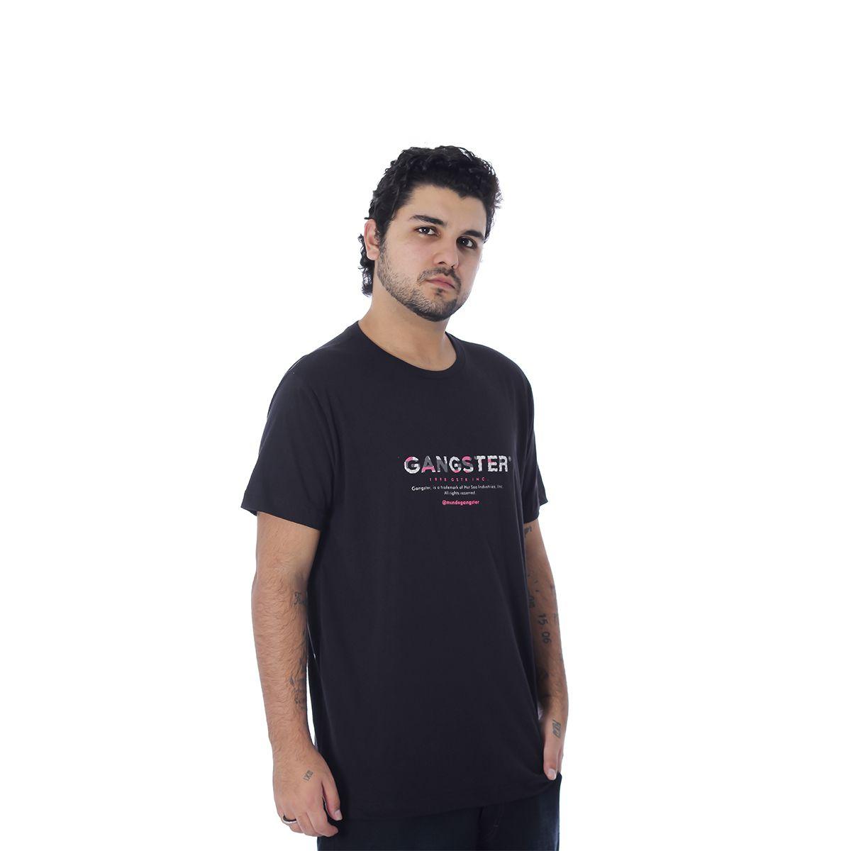 Camiseta Masculina Estampada Gangster 10.01.9988