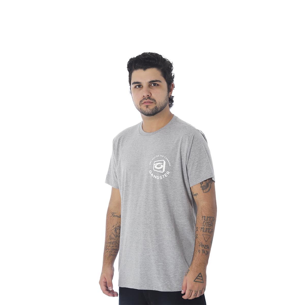 Camiseta Masculina Estampada Gangster 10.01.9989