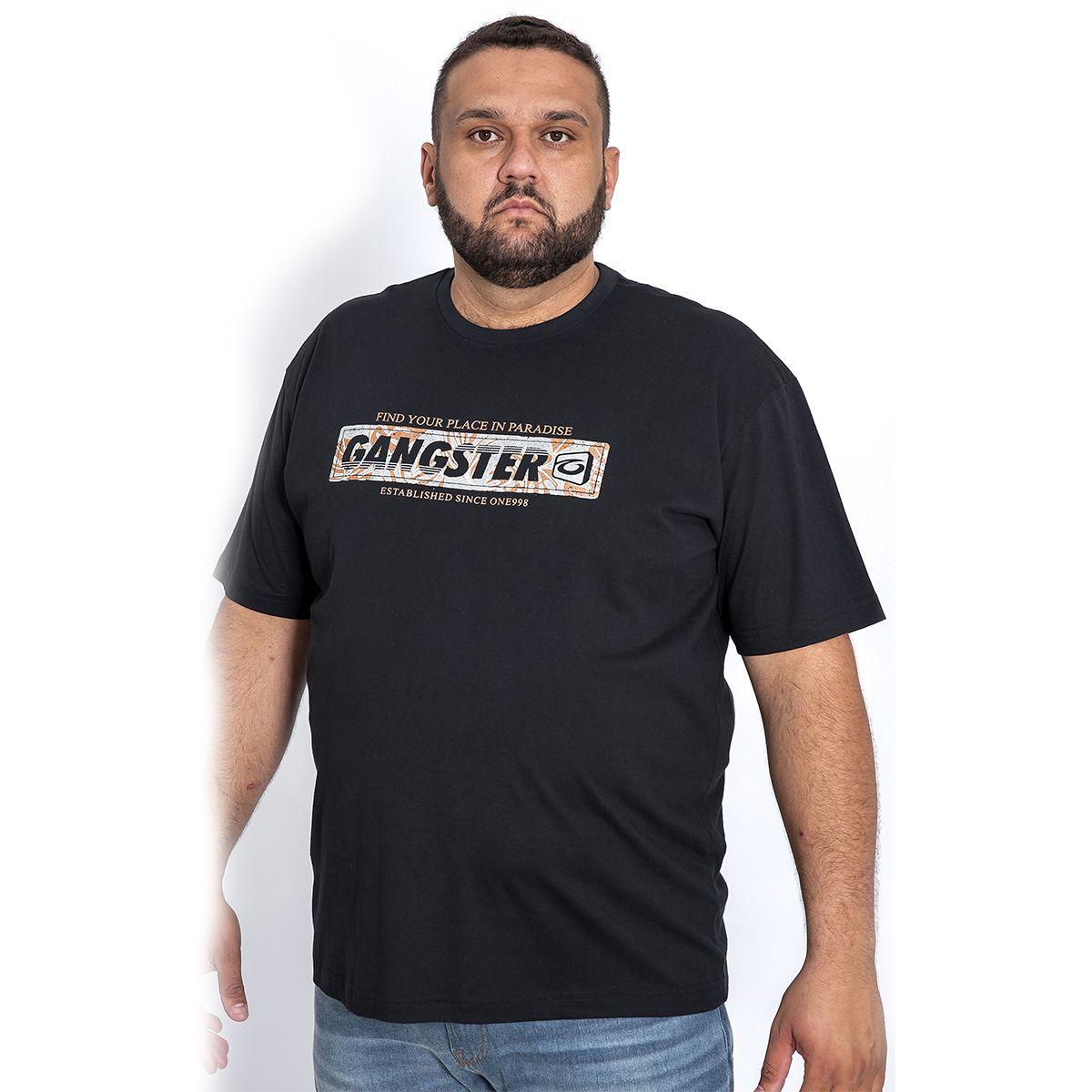 Camiseta Masculina Estampada Gangster 50.01.1209