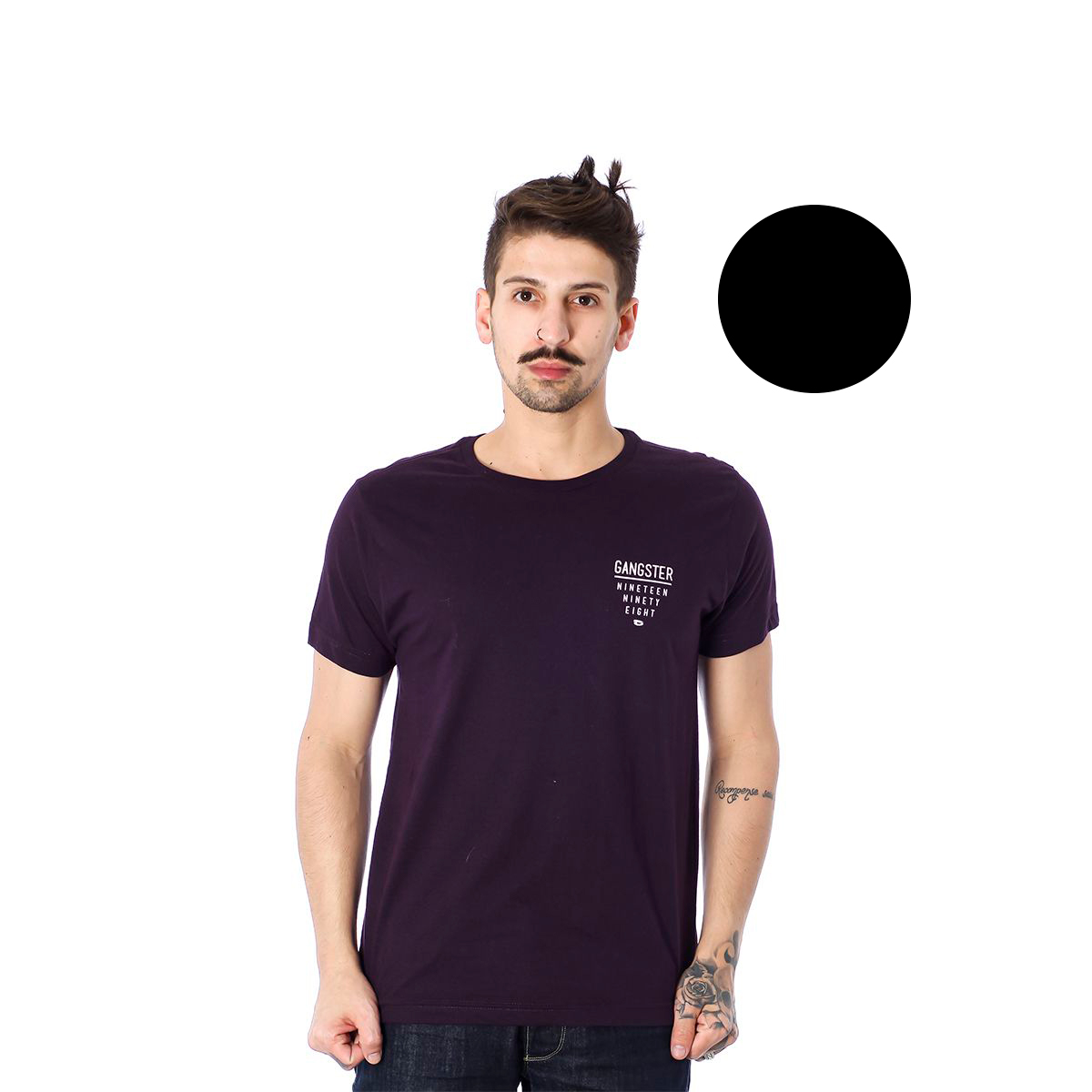 Camiseta Masculina Gangster 10.01.9080