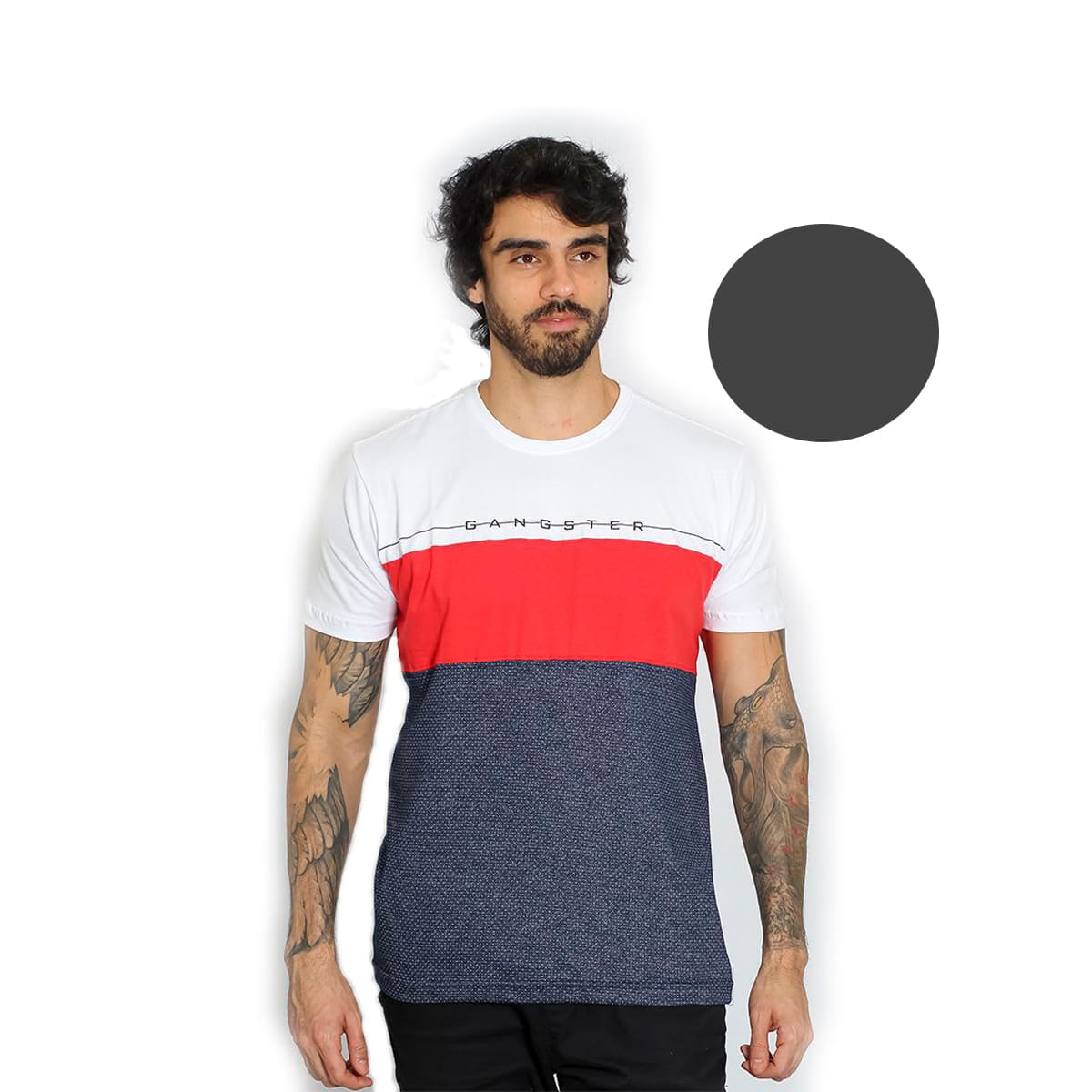 Camiseta Masculina Gangster 11.19.3058