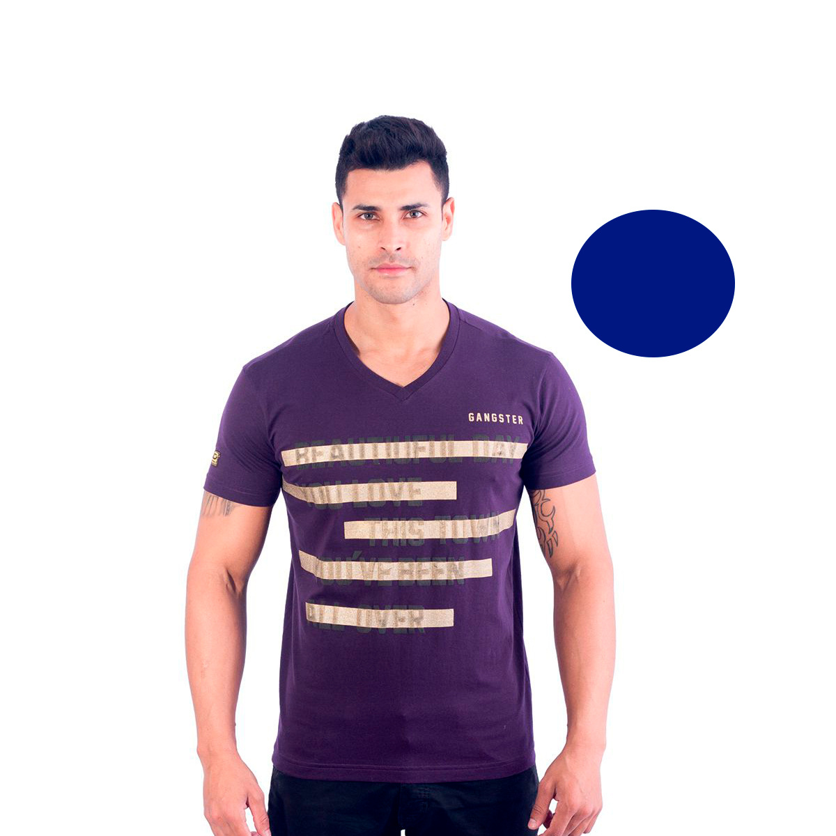 Camiseta Masculina Gangster  11.22.0211