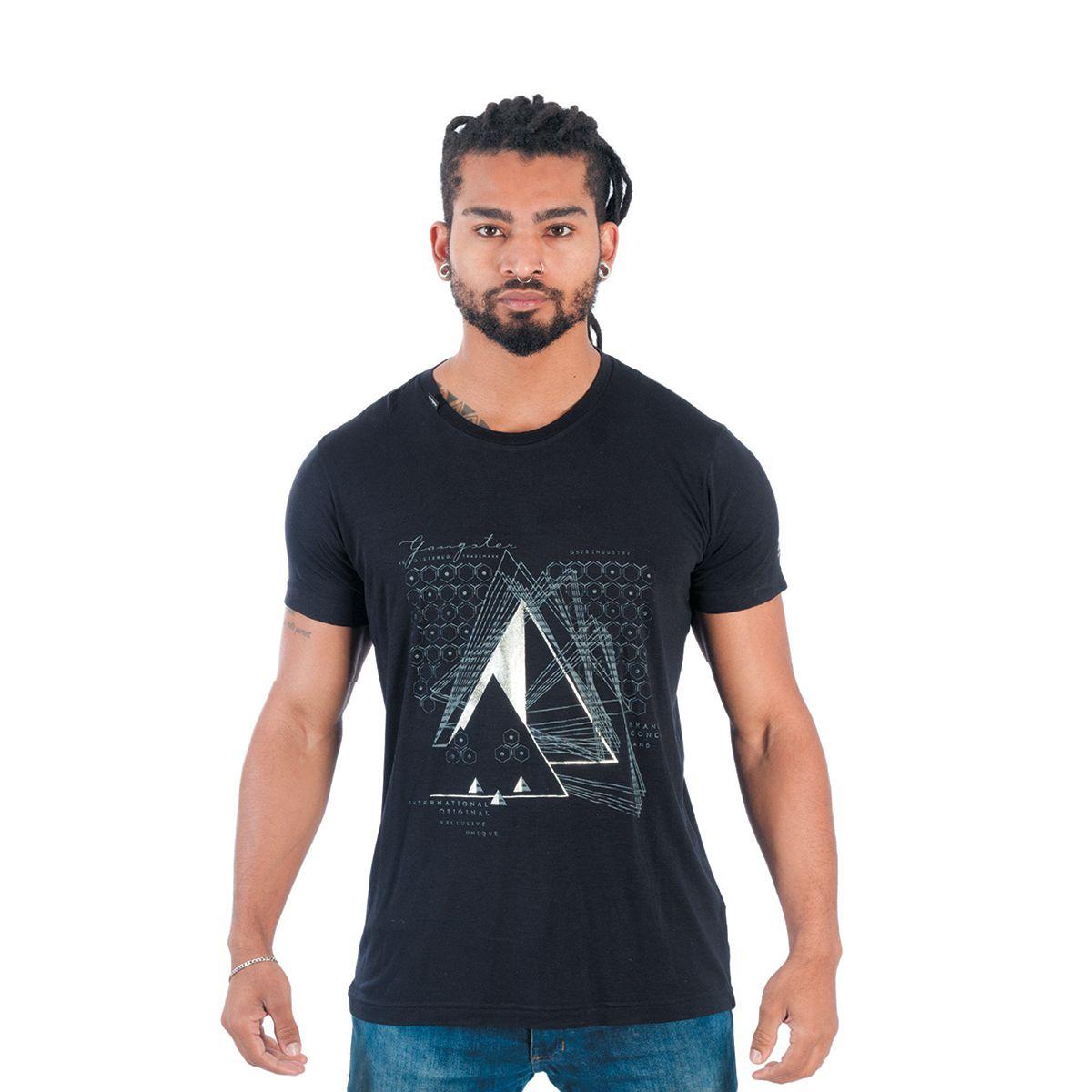 Camiseta Masculina Gangster Clássica 11.24.1002