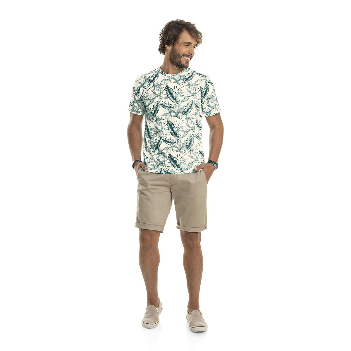Camiseta Masculina Manga Curta Rovitex 6020015
