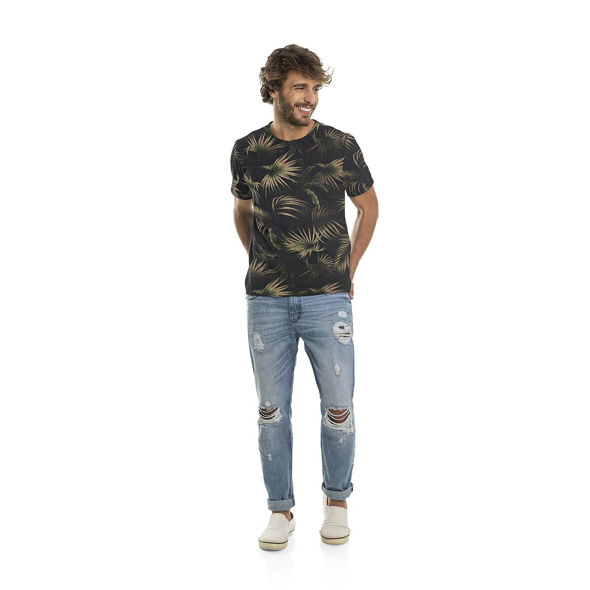 Camiseta Masculina Manga Curta Rovitex 6021015