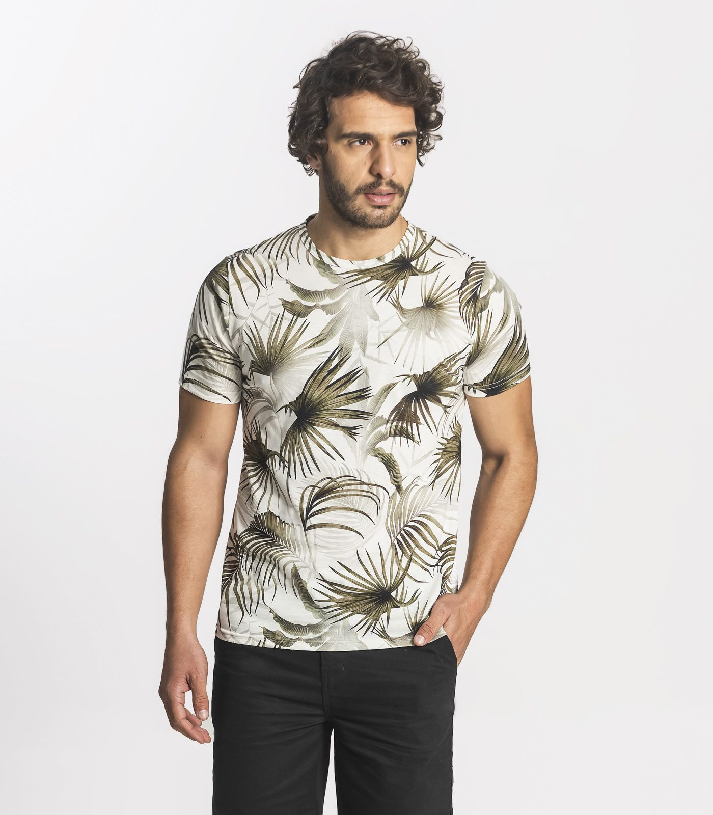Camiseta Masculina Manga Curta Rovitex 6021025
