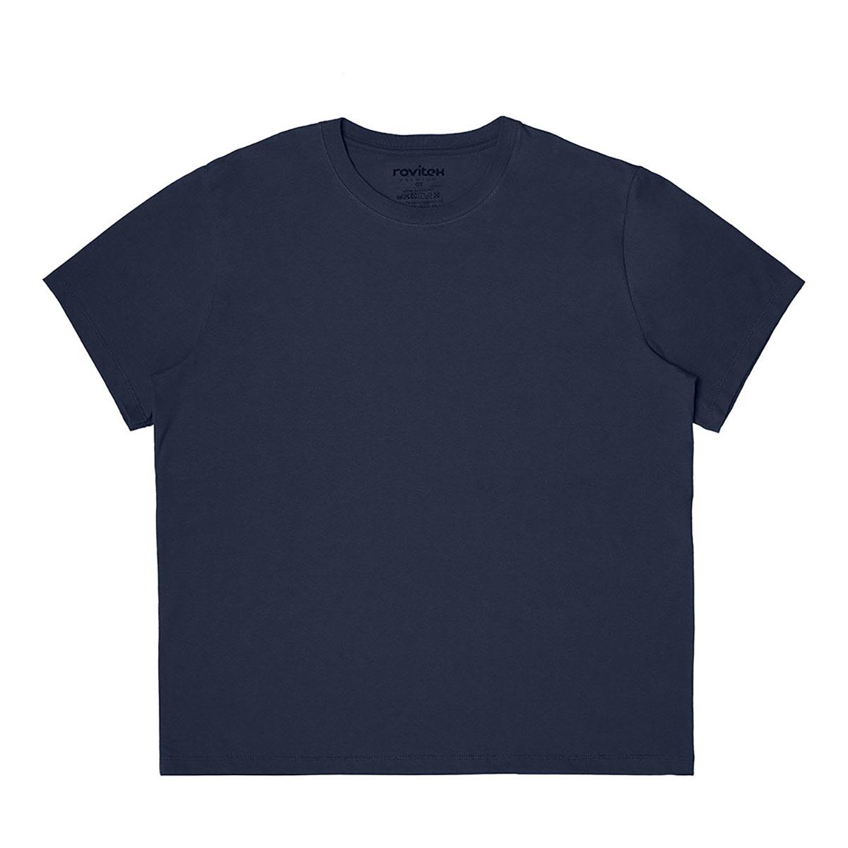 Camiseta Masculina Manga Curta Rovitex 902025